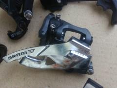 Prešmyk Sram X7 2x10 S3 Priama Montáž