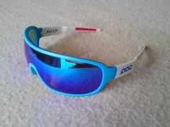 Športové Okuliare P O C - Blue/white + Polarized