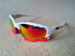 Športové Okuliare Jawbone-white/red, Polarized