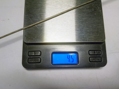 Titanium špice 2.0 X 308 Mm, 28 Ks, à 4.5g