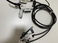 Tektro Auriga E-comp White P180mm/z160mm