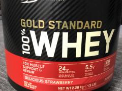 Whey Gold Standart 2,3kg Jahoda