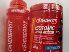 Enervit Isotonic 420g +  Flaša  Príchuť Pomaranč