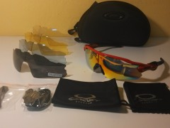 Oakley Radar Ev - červeno/čierna