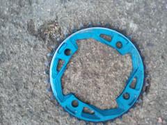Manobike Dh-t4 Prevodník 36z-modrý