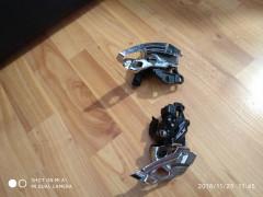 Presmykace Shimano Slx 2x10/3x10+radenie 3x11