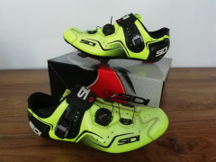 Sidi Kaos Road Shoes - Yellow Fluo - 45 Velkost