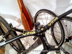 Super Lahke Race Riaditka Amoeba Vitra 620mm, Zdvih 30mm, Vaha 200g Al 2014, Priemer 25,4mm