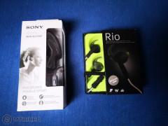 Nové (záruka) Rio Sony športové Slúchadlá