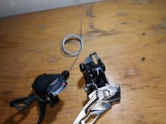 Prešmykač Shimano Deore M611 + Radenie Shimano Deore Slm610
