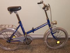 """Predám Skladací Bicykel Eska,kolesá 20"""","""