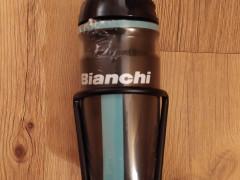 Nová Cyklofľaša Elite Bianchi + Košík