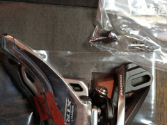 *novÝ* Shimano Xtr Fd-m9020d6 Side Swing Prešmykač 2x11 Direct Mount