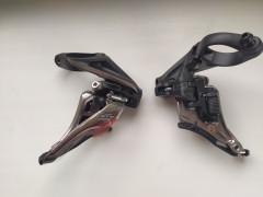/nový/ Shimano Xtr Fd-m9020h Side Swing Prešmykač 2x11 Objímka 34,9