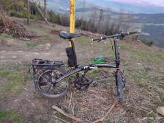 Skladací Cestovný Bicykel