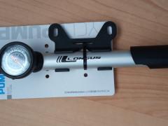 Cyklistická Pumpa Longus-pumpička Cleman Alu-t S Manometrom 120 Clever Ventil
