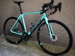 Bicykel Bianchi Infinito Cv Disc Ultegra 57 Top Stav