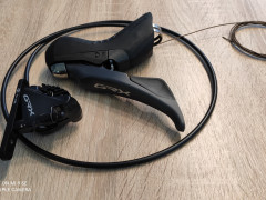 Radiaca A Brzdová Páka Shimano Grx St-rx810 + Br-rx810 - ľavá 2 Rýchlostná