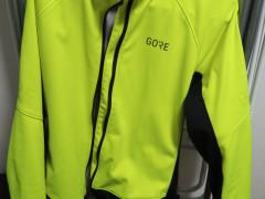 Gore C3 Gtx Infinium Thermo Jacket Neon Yellow/black