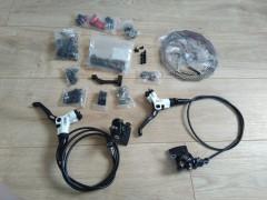 Avid Elixir Cr Carbon + Avid X0, Titan Hardware + Nahradné Diely + Avid Hs1 180mm