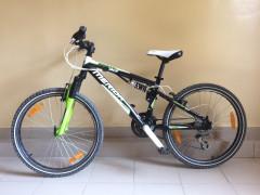 Detský Celoodpružený Horský Bicykel Merida 96