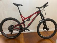 Karbónový Celoodpružený Enduro Bicykel Intense Tracer, 27,5, Veľkosť L