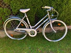 Biely Retro Bicykel - Rudi Altig