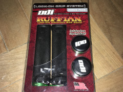 Nove Gripy Odi Ruffian Lock-on Bonus Pack Black/green