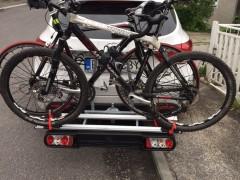 Nosič Na Bicykle - Na ťažné Zariadenie