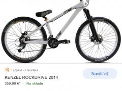 Horský Bicykel Kenzel Rockdrive 2014