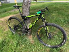 Predám Celoodpružený Horský Bicykel Scott Spark 960 / 2016 ... Dôvod Prechod Na Karbon