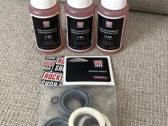 Kompletný Rock Shox Service Kit + Oleje (recon)