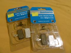 Shimano Brzdové Platničky G02a Resin Dva Páry