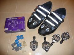 Spd Onza 2-páry + Tretry Adidas