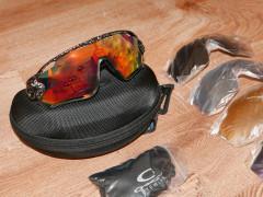 Oakley Jawbreaker + 4 Sklá Replika Karbón