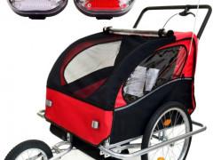 Cyklovozík Pre Dieťa /prives Za Bicykel 2v1 Odpružený