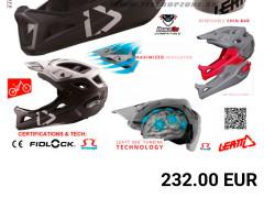 Leatt Prilba Dbx 3.0 Enduro V2, Kovovo čierna