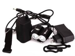 Svetlo Predné 5000 Lumen + Bateria + Nabíjačka