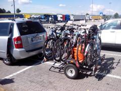 Prívesný Vozík Na Prepravu Bicyklov