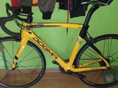Nový Cestný Bicykel Pinarello Dogma F8 Yellow Rhino Tdf Veľ.54