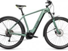 Nový Elektrobicykel Cube Nature Hybrid One 500 Allroad Green'n'sharpgreen