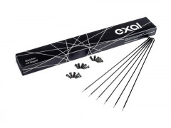 Exal Spoke (100 Pcs.) 2mm Even Black 292mm