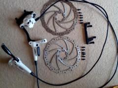 Tektro Auriga Comp +kotuce A Adaptere