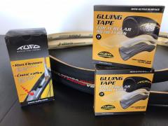 2x Vittoria Corsa G2.0 + Páska + čistič