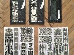 Riesel Design Frame - Fork - Tape