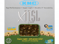 Kmc X11 Sl Gold 11-speed Chain - Predane