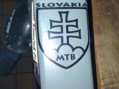 Nálepka Slovakia Mtb