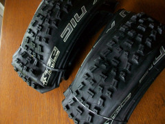 2x Schwalbe Nobby Nic 26 X 2.35  Evo Tlr Pace Star 3