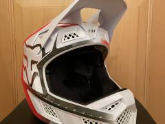 Fox Rpc Mips Full Face Helmet White / Red