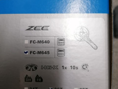 Kluky Shimano Zee Fc-m645